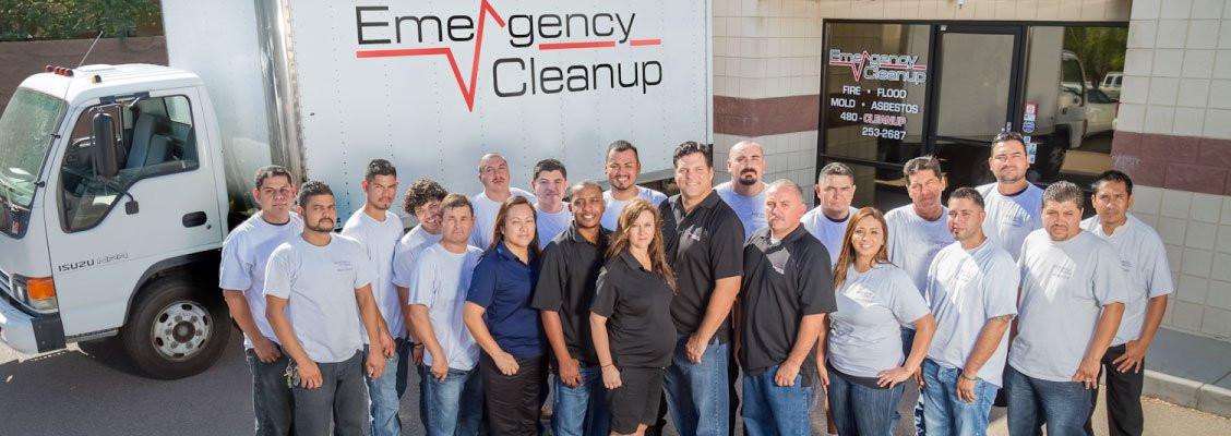 emergency cleanup team